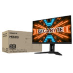 GIGABYTE M32Q 80cm (31,5″) WQHD IPS Gaming-Moniteur HDMI/DP/USB-C 165Hz 1ms HDR