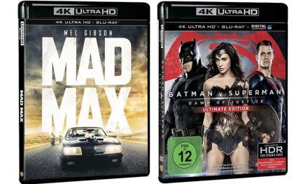 Ultra HD Blu-ray: Zwei Warner 4K Blu-ray Bundles auf Amazon.fr