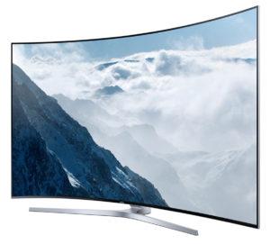 Samsung steht auf Curved 4K-Displays