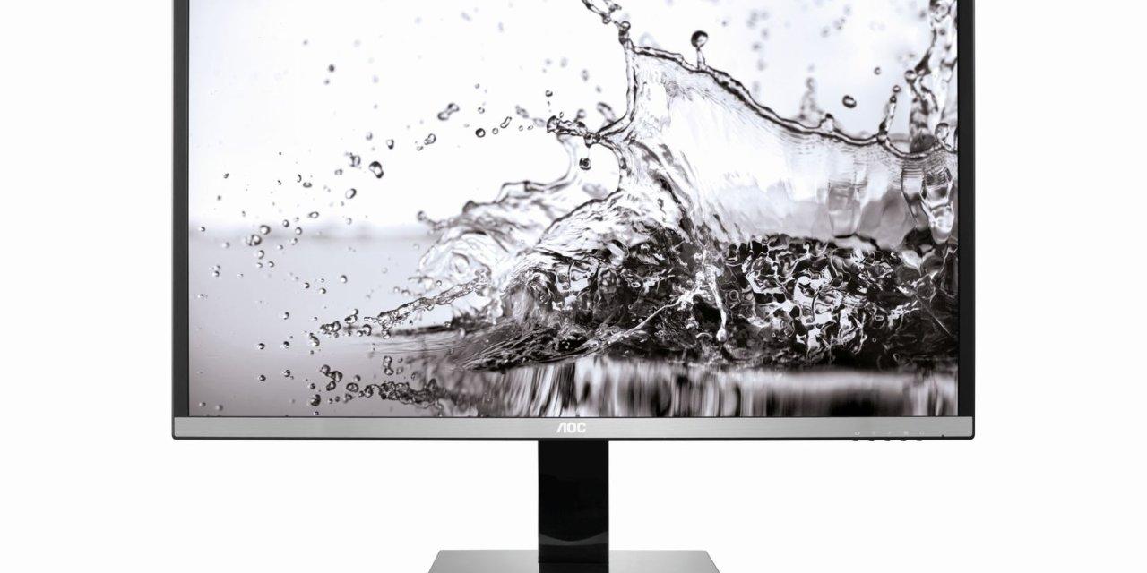 AOC U3277PWQU: Ultra HD 4K Monitor mit AMVA-Panel und 32 Zoll