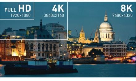 8K-Fernseher: Zukunft womöglich näher als gedacht