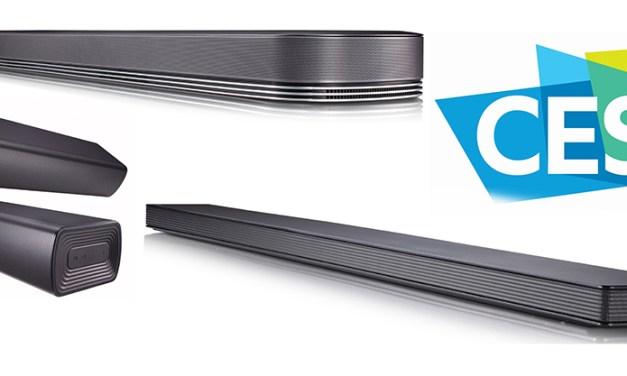 Drei neue LG-Soundbars, drei Konzepte: Dolby Atmos, Integration, Teilbarkeit
