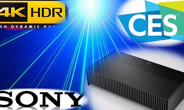 Sony 4K-Kurzdistanzprojektor benötigt für 100 Zoll Bilddiagonale nur 15 Zentimeter Abstand