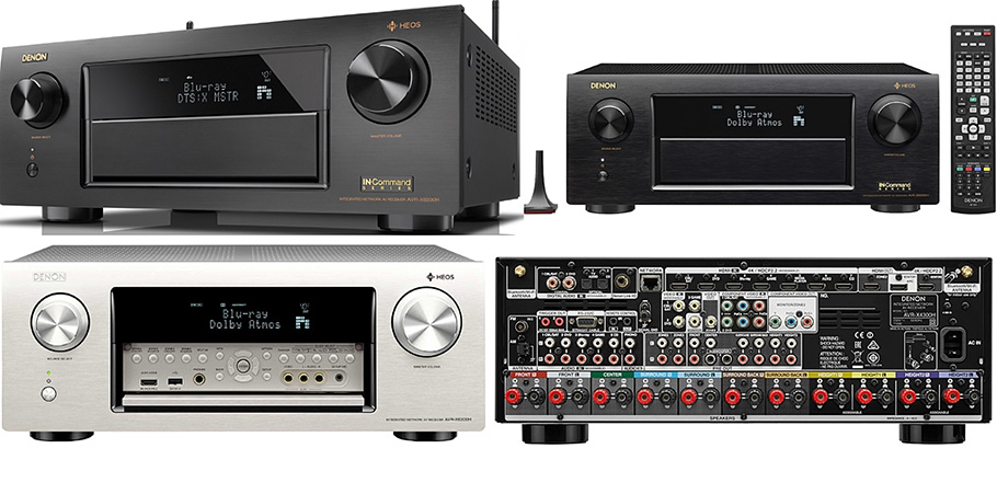 Denon AVR-X6300H: Elf starke Endstufen für Dolby Atmos und Hi-Res Audio