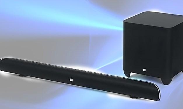 """JBL sucht mit """"ultrascharfer"""" 4K-Soundbar Anschluss an Ultra-HD-Fernseher"""