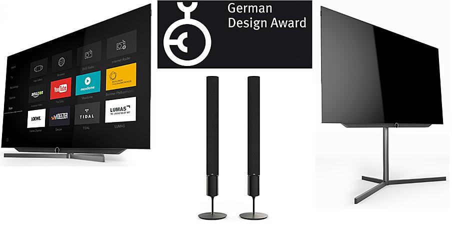 """""""Loewe"""" auf Beutezug: Fünf Preise für ausgefeilte Technik und extravagantes Design"""