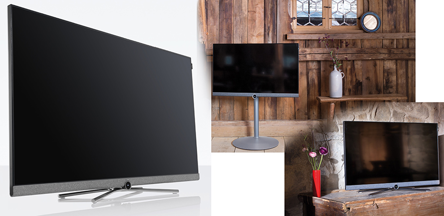 der loewe bild 5 ist gleichzeitig design objekt und high end fernseher. Black Bedroom Furniture Sets. Home Design Ideas