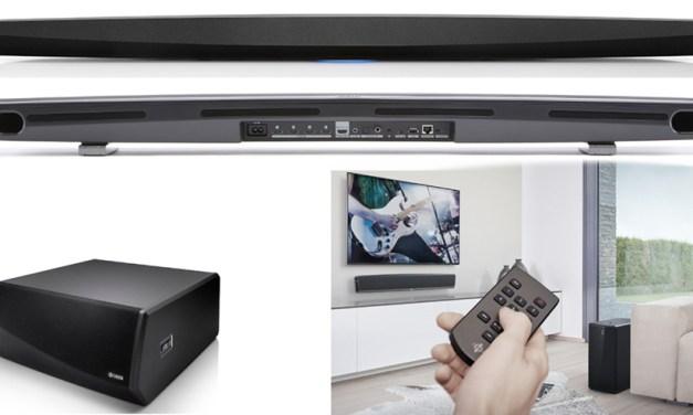 Denon HEOS Soundbar und Subwoofer als Fundament für komplexe Lautsprecher-Systeme