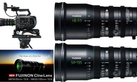 Fujifilm startet mit zwei lichtstarken Kino-Objektiven in eine neue Ära