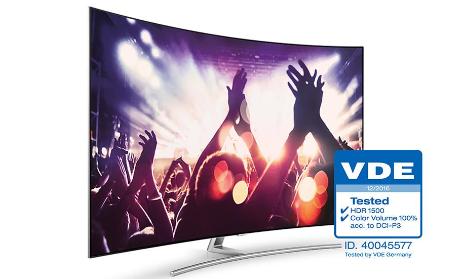 Samsung VED Zertifizierung - Ultra HDTV