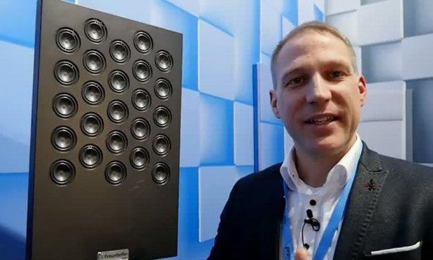 Gute Lautsprecher sind unsichtbar, Klangdusche sprüht Schall in Hörzonen