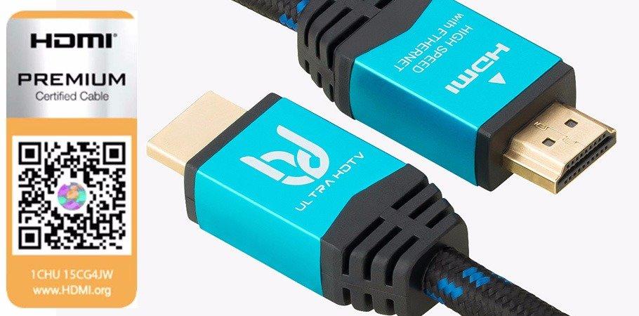 2m HDMI Kabel mit Premium-Zertifizierung und neuem Logo (Rabatt-Aktion!)