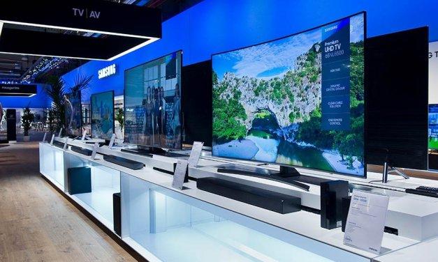 Weltneuheit von Samsung: Mit nur einem Kabel wird QLED-TV zum Chamäleon
