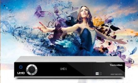 Technisat Digit ISIO STC Ultra HD Receiver erhält neue Firmware