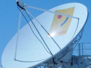 Hispasat Satellitenschüssel
