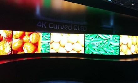 Panasonic 4K-OLED-Fernseher auf der CES vorgestellt