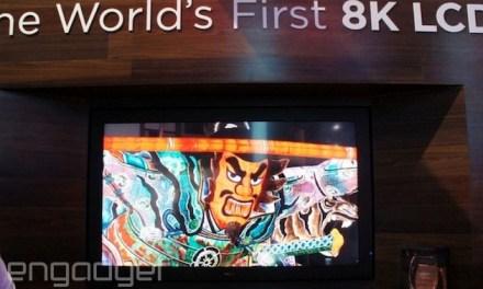 CES 2014: 8K Fernseher von Sharp mit 85 Zoll und brillenlosem 3D