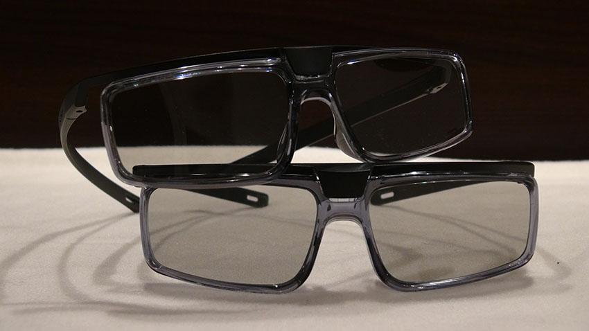 Sony X9 3D Brillen passiv