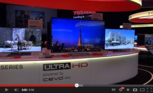 Toshiba IFA 4KTV's