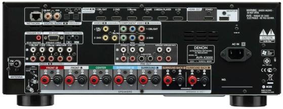 Denon AVR-X3000 Reciever