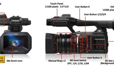 Panasonic HC-X1000: 4K-Kamera für Semi-Profis veröffentlicht