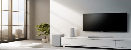 Philips Zenit Heimkino-Lautsprecher CSS5330G als 3.1-System vorgestellt