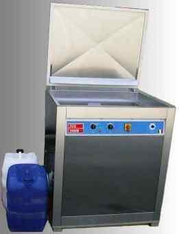 lavaggio stampi con ultrasuoni