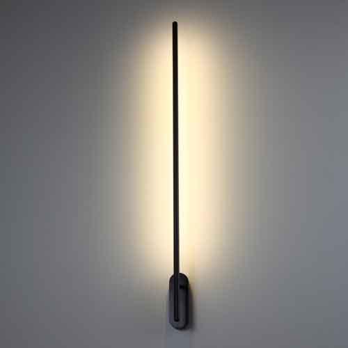 LWA243 black LED wall light
