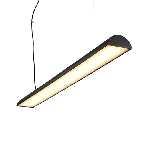 LPL161-BK 40 watt black led pendant hanging ceiling light