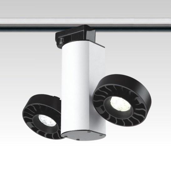 LSP105 LED track light commercial display lighting