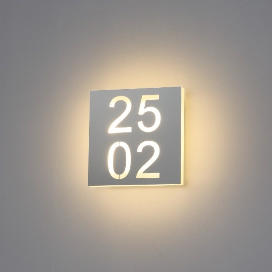 6 watt LED hotel room numbers