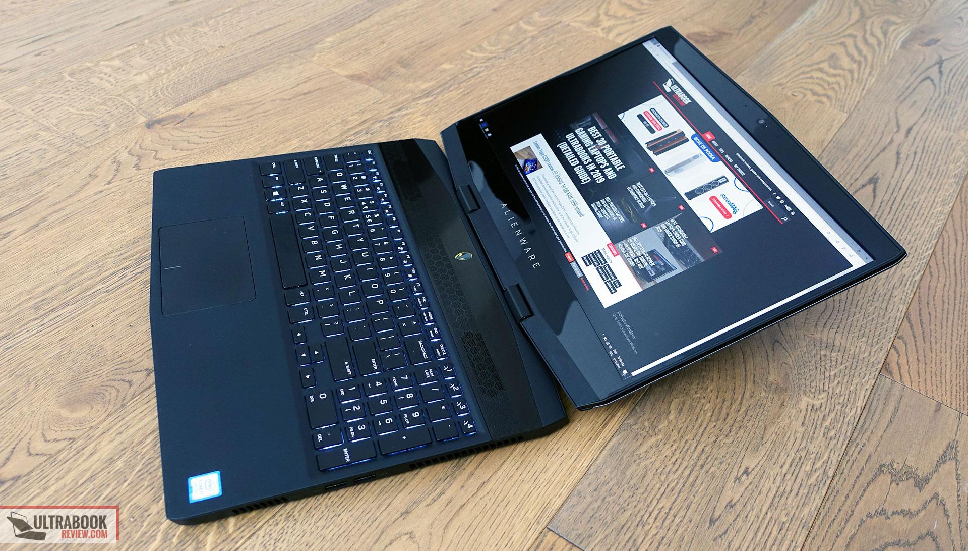 Alienware m15 Review (i7-8750H, GTX 1070 Max-Q, UHD screen