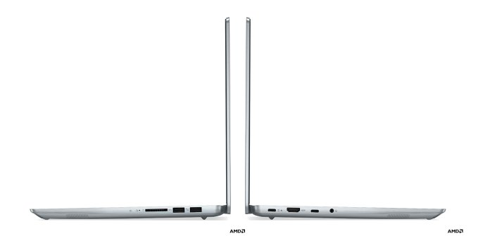 Lenovo IdeadPad 5 Pro with AMD - connectors on 14 inch model