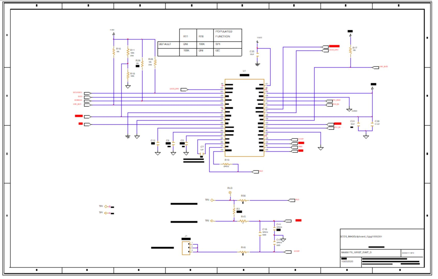 Reference Design Schematic