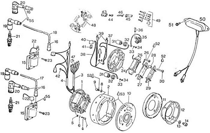 rotax bosch points ignition wiring diagram typical points ignition wiring diagram efcaviation com ignition system troubleshooting wiring diagram at soozxer.org