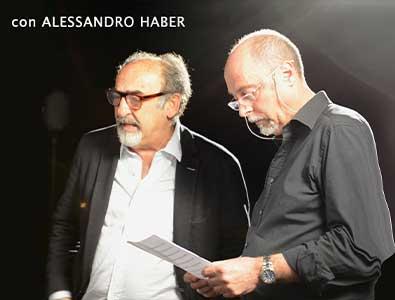 Claudio Focardi con Alessandro Haber