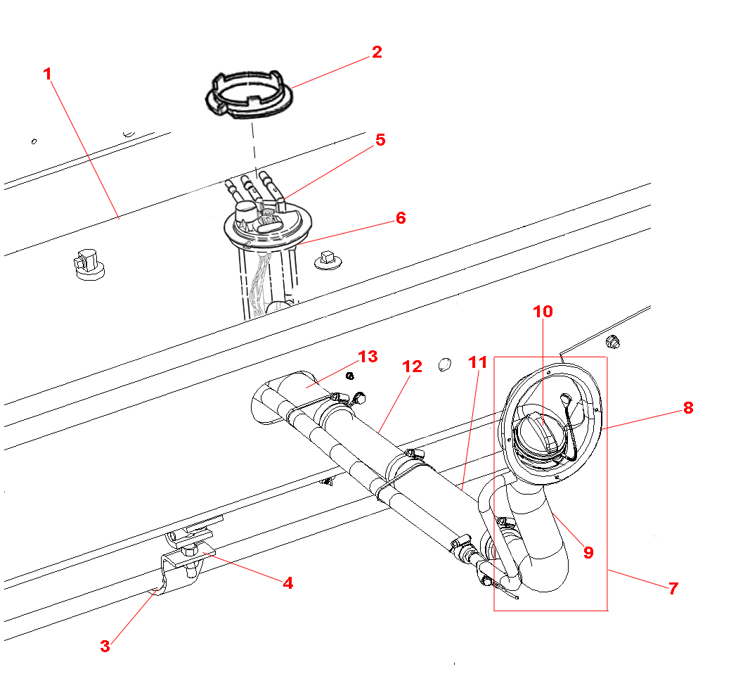 Freightliner Xc Chassis Parts Diagram