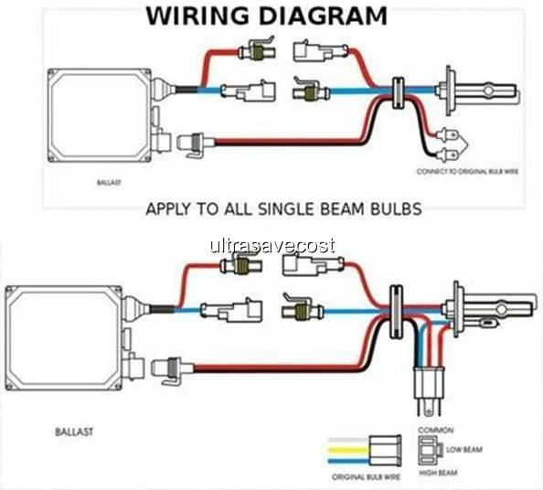hid h4 bulb wiring diagram dual slim  schematic wiring