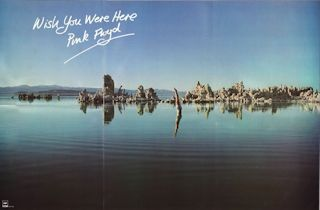 PINK FLOYD - Wish You Were Here (poster Japon)