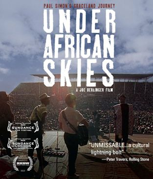 PAUL SIMON'S GRACELAND JOURNEY - UNDER AFRICAN SKIES  cartel