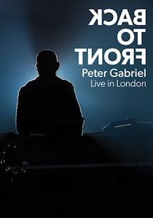PETER GABRIEL, BACK TO FRONT