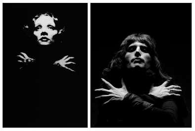 Comparativa Marlene Dietrich - Freddie Mercury