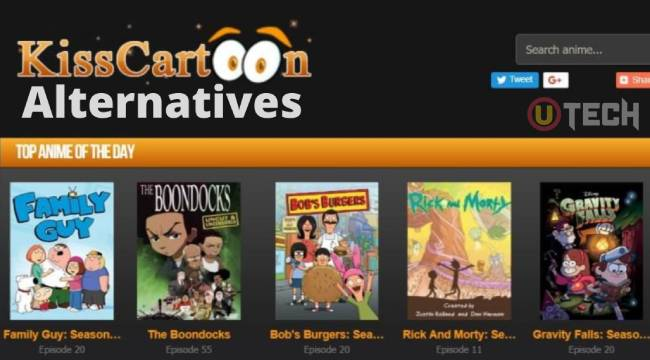 What are The Top 10 Alternatives to Kisscartoon?