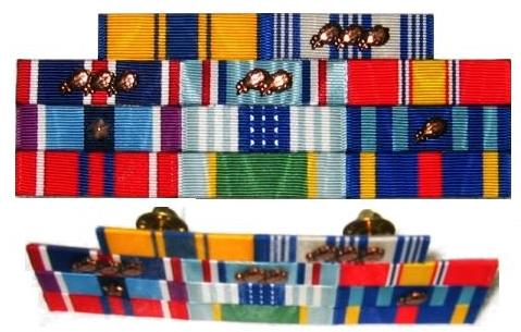 the original thin military ribbon set