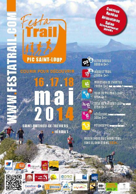 Affiche Festa Trail 2014