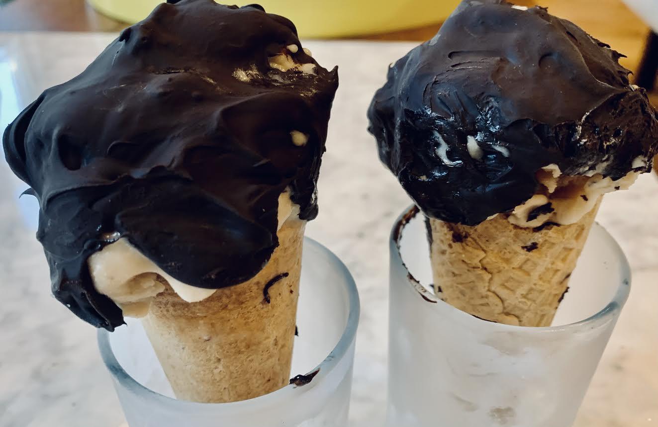 honey nut ice cream