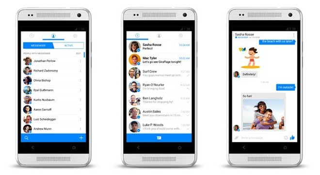 Facebook The Messenger App Updated with New Design for Android and iOS