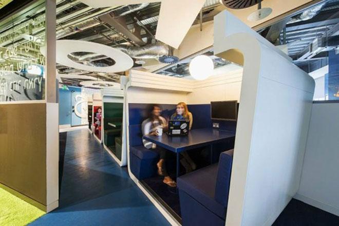 Google's Awe-Inspiring Dublin Campus Designed by Camezind Evolution