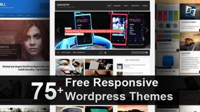 Photo of 75+ Free Responsive WordPress Themes