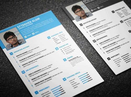 Free-Resume-CV-Business-Card-Templates